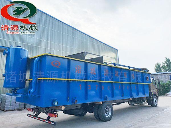 发往四川的ping流式溶气气浮机微lv机等设备